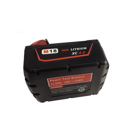 M18V XC MILWAUKEE電動工具 4000MAH/72WH 18V Ni-MH 電池MILWAUKEE 48-11-2200 48-11-2230 48-11-2232 48-11-1840 8940158631 POWER TOOL(2pc battery)