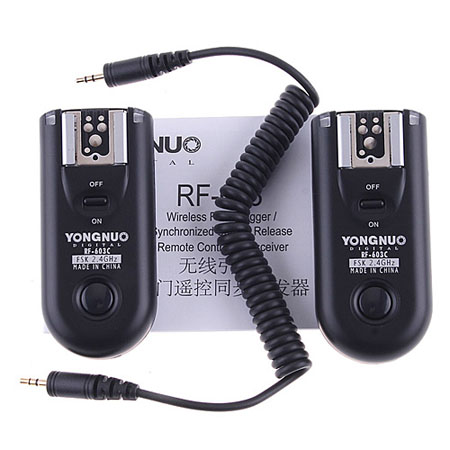 Wireless Flash Trigger+ Receiver For Canon 450D/550D