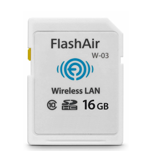 TOSHIBA SDHC FLASHAIR WIFI用のメモリーカードクラス10 16G SDHC WIRELESS