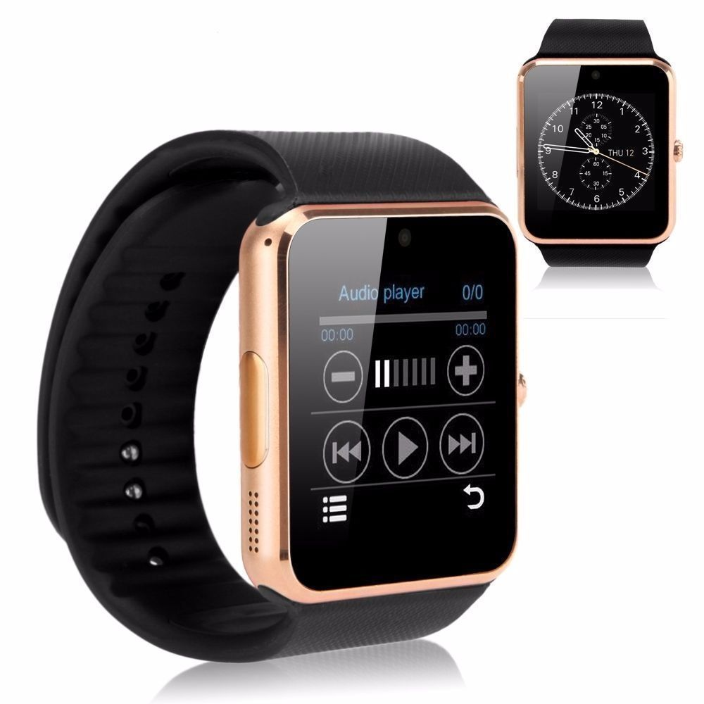 『送料無料』smart electronics  GT08 Bluetooth Smart Watch NFC Wrist Phone Mate For iPhone Andorid
