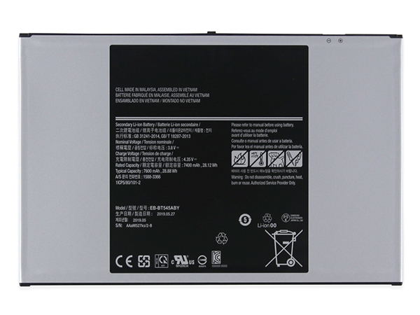 Samsung EB-BT545ABY電池/バッテリー